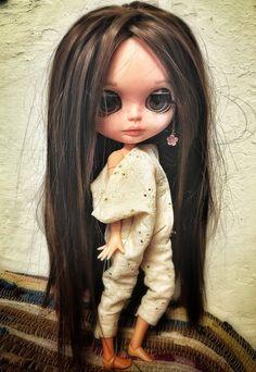 Blythe doll custom doll dolls fashion doll ooak by BlytheMe78