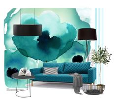 """""""turquoise dream"""" by izabelasz ❤ liked on Polyvore"""
