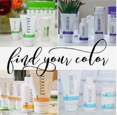 Find your colour! Take the solution tool and find your perfect match! jwells21.myrandf.com jenwells21@gmail.com 661 755 6852
