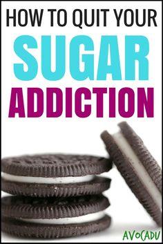 How to Quit Your Sugar Addiction   Avocadu.com