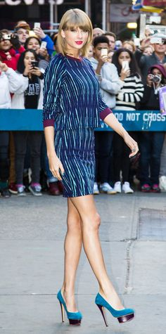 Look of the Day - October 28, 2014 - Taylor Swift from #InStyle