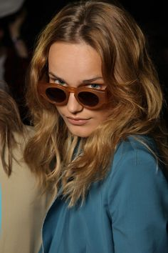 Retro shades at Acne Spring 2012
