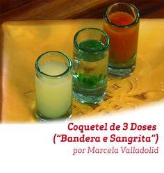 Sabores típicos do México, nesse drink criado por Marcela Valladolid.