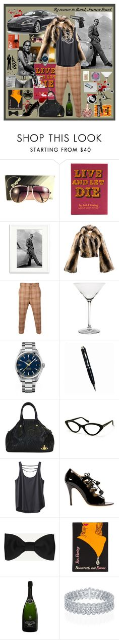 """Bond is Forever"" by billiej-712 ❤ liked on Polyvore featuring Aston Martin, Bogner, Olympia Le-Tan, James Bond 007, Sonic Editions, Vivienne Westwood, Vivienne Westwood Man, Yardley London, Riedel and Spy Optic"