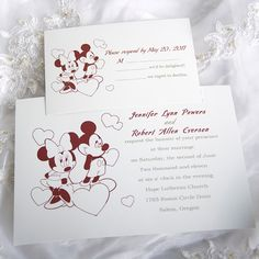 Disney - Oh, Boy! Invitation - Mickey Mouse | Wedding Theme Ideas ...
