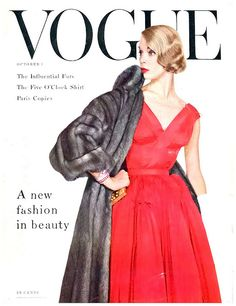 Jean Patchett Vogue January 1953