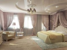 A bedroom is an intimate place for two, which should radiate a relaxing atmosphere. The pop ceiling design in the bedroom plays an important role. Latest False Ceiling Designs, Pop False Ceiling Design, Easy Home Decor, Cheap Home Decor, Baby Blue Bedrooms, False Ceiling Bedroom, Decor Interior Design, Design Bedroom, Bedroom Ideas