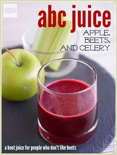 Hate beets? This abc juice recipe is the perfect beet juice recipe for people who hate beets. It's sweet and tart (without the overpowering dirt taste). Plus it's filled with alkalizing & anti-inflammatory powers.