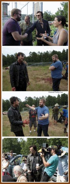 The Walking Dead - Robert Kirkman and David Morrissey
