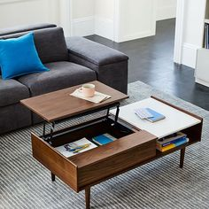 West Elm offers modern furniture and home decor featuring inspiring designs and colors. Create a stylish space with home accessories from West Elm. Walnut Coffee Table, Diy Coffee Table, Coffee Table With Storage, Coffee Table Design, Modern Coffee Tables, Walnut Table, Luxury Furniture, Modern Furniture, Home Furniture