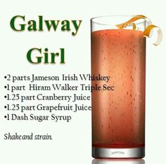 Galway Girl Drink