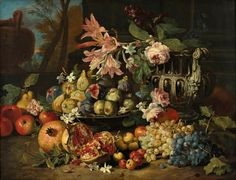 from Ra to Rz / Ra To Re / Renoir Pierre Auguste 1841 1919 / Renoir Pierre Auguste Boats Puzzle Of The Day, Still Life Flowers, Dutch Golden Age, Renaissance Paintings, Painting Still Life, The Little Prince, Old Master, Cool Art, Awesome Art