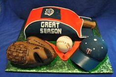 Sports Cakes - Team cakes, sports event cakes, end of season cakes. Cakes by Susan Cheyenne, Wyoming