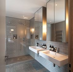 I like the tiles and shower