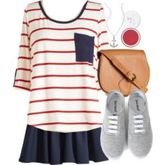 Allison Inspired Nautical Outfit