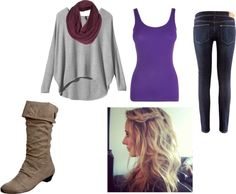 """""""Cozy Winter outfit"""" by becca423 on Polyvore"""