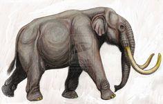 Phanagoroloxodon mammontoides by ~DiBgd