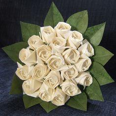 Fleurs en origami