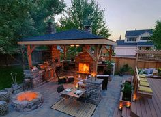 #Backyard Cooking Patios