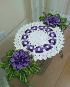 Crochet World, Crochet Diy, Crochet Books, Crochet Poncho, Crochet Chart, Crochet Home, Crochet Doilies, Crochet Flower Patterns, Doily Patterns