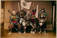 vintage everyday: Portraits of The Real Samurai in The 19 Century