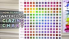 SWATCHING WATERCOLORS / HOW TO MAKE A GLAZING CHART https://youtu.be/AUQpyON6fXA  When you build a palette or a collection of watercolors a glazing chart can be incredibly handy for understanding how your paints layer! In this video I discuss how to make a glazing charts and how they differ from mixing charts.  SUPPLIES:  Holbein watercolours  Da Vinci watercolours  M. Graham watercolours in Dioxazine Purple  Daniel Smith watercolours in Permanent Brown & Rose of Ultramarine  Fabriano…