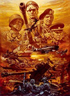 生頼範義 / 光栄 / ヨーロッパ戦線 / Noriyoshi Ohrai / Noriyoshi Orai / KOEI / Operation Europe: Path to Victory