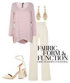"""""""Wedding Guest #4"""" by mulberrymusefashion ❤ liked on Polyvore featuring Vera Wang"""