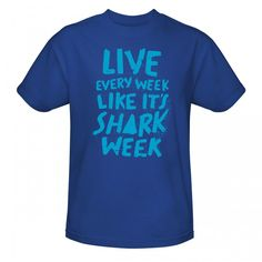 It's Shark Week. Oh yes, there are some cool Shark Gifts :)