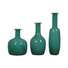 Uttermost 20017 Baram Vases Designed by Billy Moon Green Home Decor ($249) ❤ liked on Polyvore featuring home, home decor, vases, accents, green, glass home decor, uttermost home decor, glass vase, inspirational home decor and green home decor