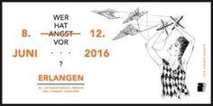 """""""Wovor hast du Angst?"""" Diese Frage steht im Zentrum des diesjährigen internationalen Theaterfestivals ARENA, das vom 8. bis 12. Juni an verschiedenen Spielstätten in Erlangen stattfindet. Nicht verpassen! (Bild: ARENA)"""