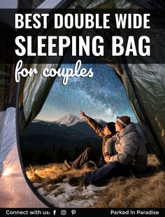 Best Double Wide Sleeping Bags For Couples And Families Adventure Couple, Adventure Travel, Suv Camping Tent, Cold Weather Camping, Sleeping Bags, Under The Stars, Cool Trucks, Backpacking, Paradise