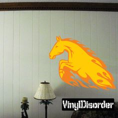 Horse Wall Decal - Vinyl Sticker - Car Sticker - Die Cut Sticker - SM011