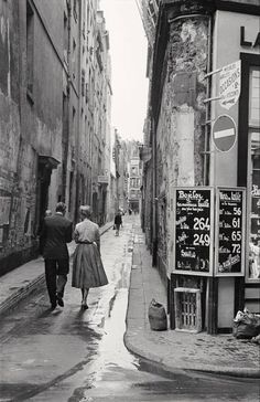 SailerAhoi b&w paris 1954