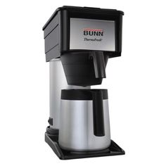 Special Offers - BUNN BTX-B(D) ThermoFresh High Altitude 10-Cup Home Thermal Carafe Coffee Brewer Black - In stock & Free Shipping. You can save more money! Check It (April 03 2016 at 06:22AM) >> http://coffeemachineusa.net/bunn-btx-bd-thermofresh-high-altitude-10-cup-home-thermal-carafe-coffee-brewer-black/