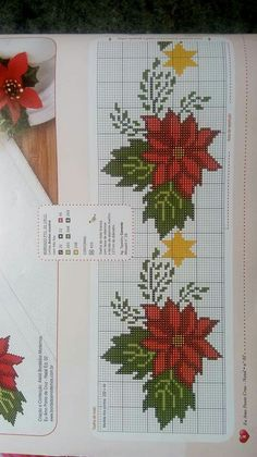 This pin was discovered by joni ellis. Cross Stitch Christmas Stockings, Xmas Cross Stitch, Cross Stitch Kitchen, Cross Stitch Needles, Modern Cross Stitch, Christmas Cross, Cross Stitch Boarders, Cross Stitch Flowers, Cross Stitch Charts