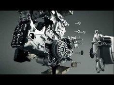 Ducati Superquadro Motor in 3D - YouTube