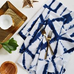 Tie-Dye Cloth Napkins