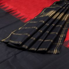 Sri Sagunthalai Silks Handwoven Half and Half Korvai Kanchipuram Silk Saree 10002156 - AVISHYA.COM