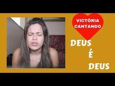 → Victória Ferreira Canta DEUS É DEUS - DELINO MARÇAL