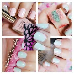 ► http://jabristik.blogspot.de/2016/01/nailart-tutorial-ombre-look-mausespeck.html ◄  #Nailart #Tutorial online now on my #beautyblog! I wrote it very detailed! So I hope it will be helpfull 4 you!♥ xOxO Jini