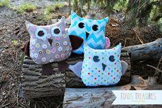 Free Easy Owl Pattern via Toad's Treasures