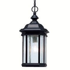 Kichler Kirkwood Black Single Traditional Clear Glass Lantern Pendant Light at Lowe's. At Kichler, we've been shedding light on what's important since 1938 by creating dependable, high-quality fixtures. Even as a global brand, we focus on Outdoor Ceiling Lights, Outdoor Hanging Lanterns, Outdoor Lighting, Porch Lighting, Exterior Lighting, Kitchen Lighting, Outdoor Decor, Lantern Pendant Lighting, Shops