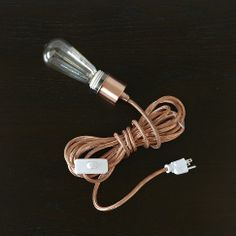 copper metallic cord set