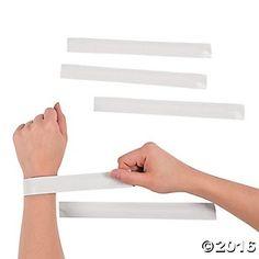 DIY Slap Bracelets - 24pk Party Supplies Canada - Open A Party