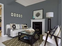 Pastel Walls in the Living Room Wall Colors — Deco Home Decor Grey Walls Living Room, Living Room Color Schemes, Paint Colors For Living Room, My Living Room, Living Room Designs, Living Room Decor, Gray Walls, Small Living, Color Walls