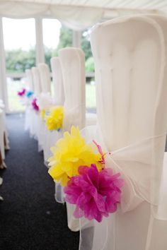 Ronnie & Craig's Cooler than Cool, Multi-Coloured DIY Wedding