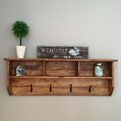 Rocky Mountain Series- Wall Mounted Coat Rack, Coat Rack, Wood Decor, Wall Coat Rack, Wall Hooks, Coat Hanger, Entryway Decor, Mudroom Decor by FoxDesignsBoutiqueCo on Etsy https://www.etsy.com/listing/495418152/rocky-mountain-series-wall-mounted-coat