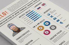 Diez ejemplos de #currículums creativos y profesionales