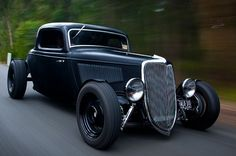 34 FORD COUPE not a rat but a nice murder hotrod